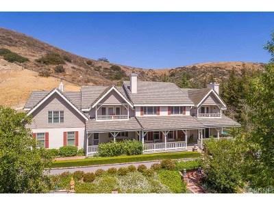 Agoura Hills Single Family Home For Sale: 6144 Chesebro Road