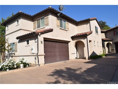 Saugus Single Family Home For Sale: 21102 Avenida De Sonrisa