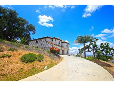 Simi Valley CA Single Family Home For Sale: $1,099,999