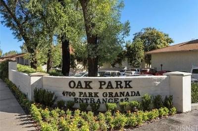 Condo/Townhouse For Sale: 4740 Park Granada #247