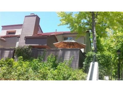 Westlake Village Condo/Townhouse For Sale: 438 Via Colinas