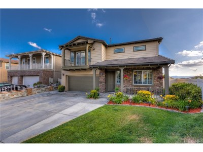 Canyon Country Single Family Home For Sale: 15710 Rob Roi Court