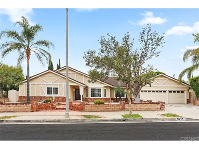 Chatsworth Single Family Home For Sale: 10249 Oakdale Avenue