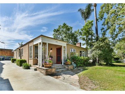 Burbank CA Single Family Home Sold: $700,000