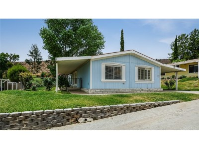 Acton Single Family Home For Sale: 33105 Santiago Road #75