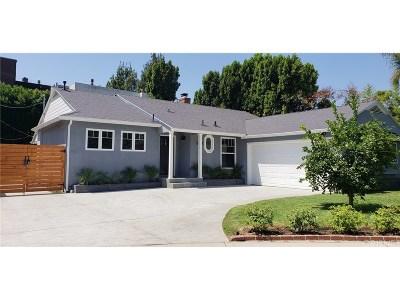 Studio City Single Family Home For Sale: 12508 Rye Street
