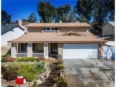 Saugus Single Family Home For Sale: 21951 Peppercorn Drive