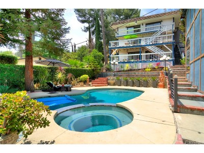 Woodland Hills Single Family Home For Sale: 5020 Marmol Drive