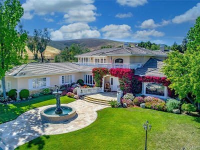 Westlake Village Single Family Home For Sale: 3895 Peacock Court