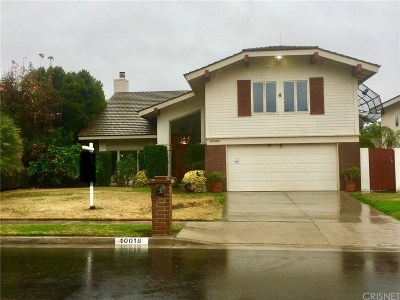 Chatsworth Single Family Home For Sale: 10018 Nevada Avenue