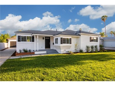 Tarzana Single Family Home For Sale: 19138 Erwin Street