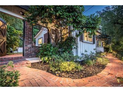 Studio City Single Family Home For Sale: 11730 El Cerro Lane