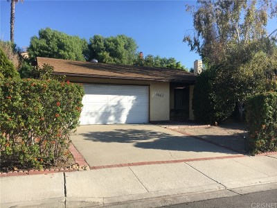 Thousand Oaks Single Family Home For Sale: 1667 Burning Tree Drive