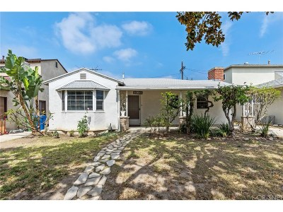 Culver City Single Family Home For Sale: 10841 Fairbanks Way