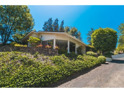 Woodland Hills Single Family Home For Sale: 22232 Ybarra Road