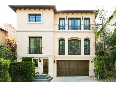 Hollywood Hills Single Family Home For Sale: 8540 Lookout Mountain Avenue