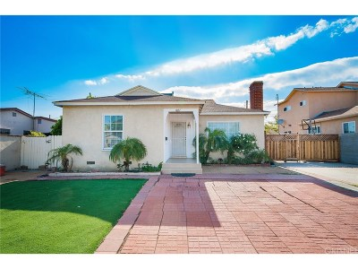 Los Angeles County Single Family Home For Sale: 7637 Shadyglade Avenue