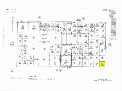 Lancaster Residential Lots & Land For Sale: 40 West And Avenue B-8