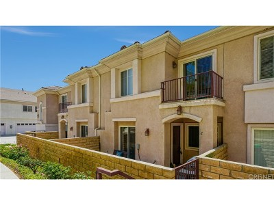 Canyon Country Condo/Townhouse For Sale: 28955 Oak Spring Canyon Road #2