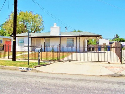 Los Angeles County Single Family Home For Sale: 17531 Kingsbury Street