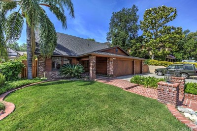 Newhall Single Family Home For Sale: 23518 Highland Glen Drive
