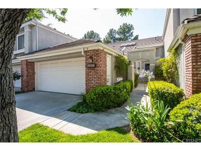 Los Angeles County Condo/Townhouse For Sale: 24446 Hampton Drive #B