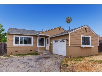 Reseda Single Family Home For Sale: 19400 Welby Way