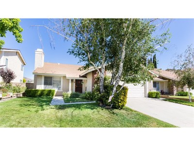 Saugus Single Family Home For Sale: 27552 Camomile Lane