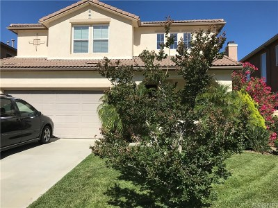 Saugus Single Family Home For Sale: 28319 Atley Court
