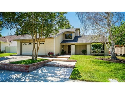 Valencia Single Family Home For Sale: 23953 Via Hamaca