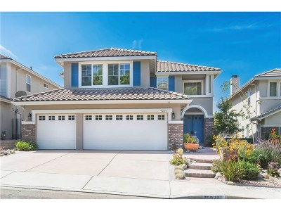 Stevenson Ranch Single Family Home For Sale: 25922 Bryant Place