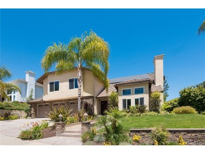 Agoura Hills Single Family Home For Sale: 5844 Woodglen Drive