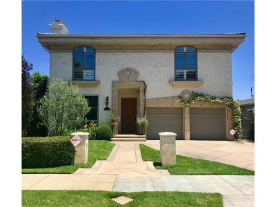 Los Angeles Single Family Home For Sale: 1556 Glenville Drive