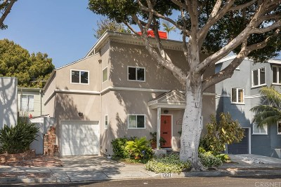 Santa Monica Single Family Home For Sale: 1321 Chelsea Avenue