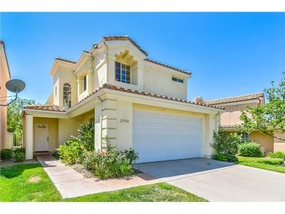 Stevenson Ranch Single Family Home For Sale: 25716 Elliot Court
