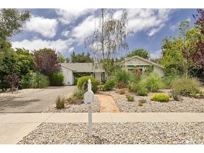 Thousand Oaks Single Family Home For Sale: 2420 Sirius Street
