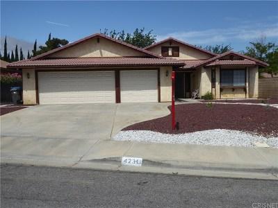 Quartz Hill CA Single Family Home For Sale: $350,000