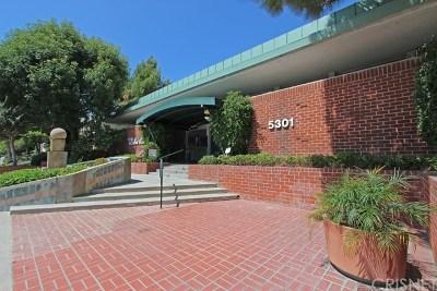 Encino Condo/Townhouse For Sale: 5301 Balboa Boulevard #Q102