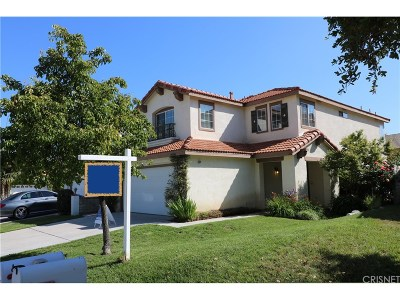 Stevenson Ranch Single Family Home For Sale: 25706 Hammet Circle