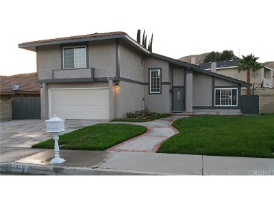 Saugus Single Family Home For Sale: 20527 Alaminos Drive