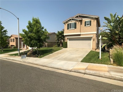 Castaic Single Family Home For Sale: 29817 Glendower Court