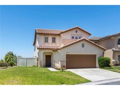 Canyon Country Single Family Home For Sale: 27701 Adonis Lane
