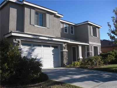 Palmdale Single Family Home For Sale: 1626 Amargosa Drive