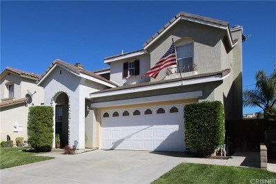 Saugus Single Family Home For Sale: 28458 Old Spanish