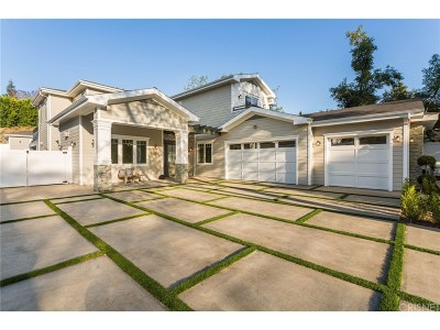 Tarzana Single Family Home For Sale: 5646 Melvin Street