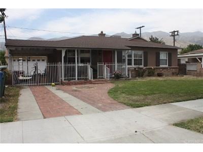 Burbank Single Family Home For Sale: 1725 Bonita Avenue