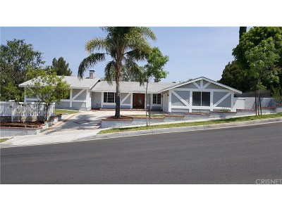 Canyon Country Single Family Home For Sale: 18833 Nadal Street