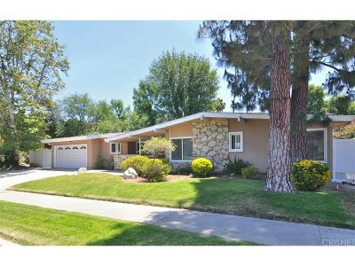 Tarzana Single Family Home For Sale: 4510 Azalia Drive