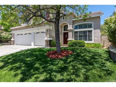 Saugus Single Family Home For Sale: 21613 Rose Canyon Lane