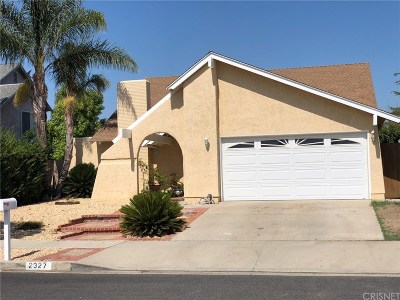 Simi Valley Single Family Home For Sale: 2327 Tracy Avenue East